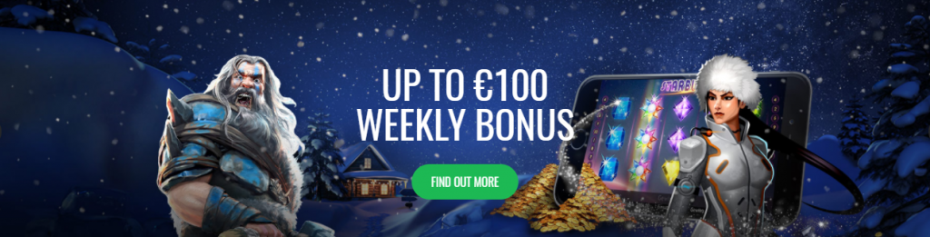 kazino bonus - weekly bonus