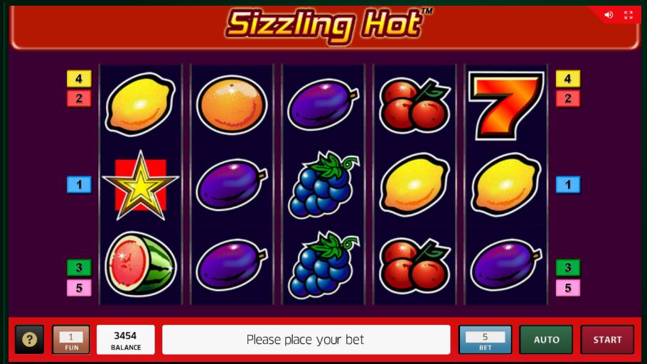 Sizzling Hot Za Free