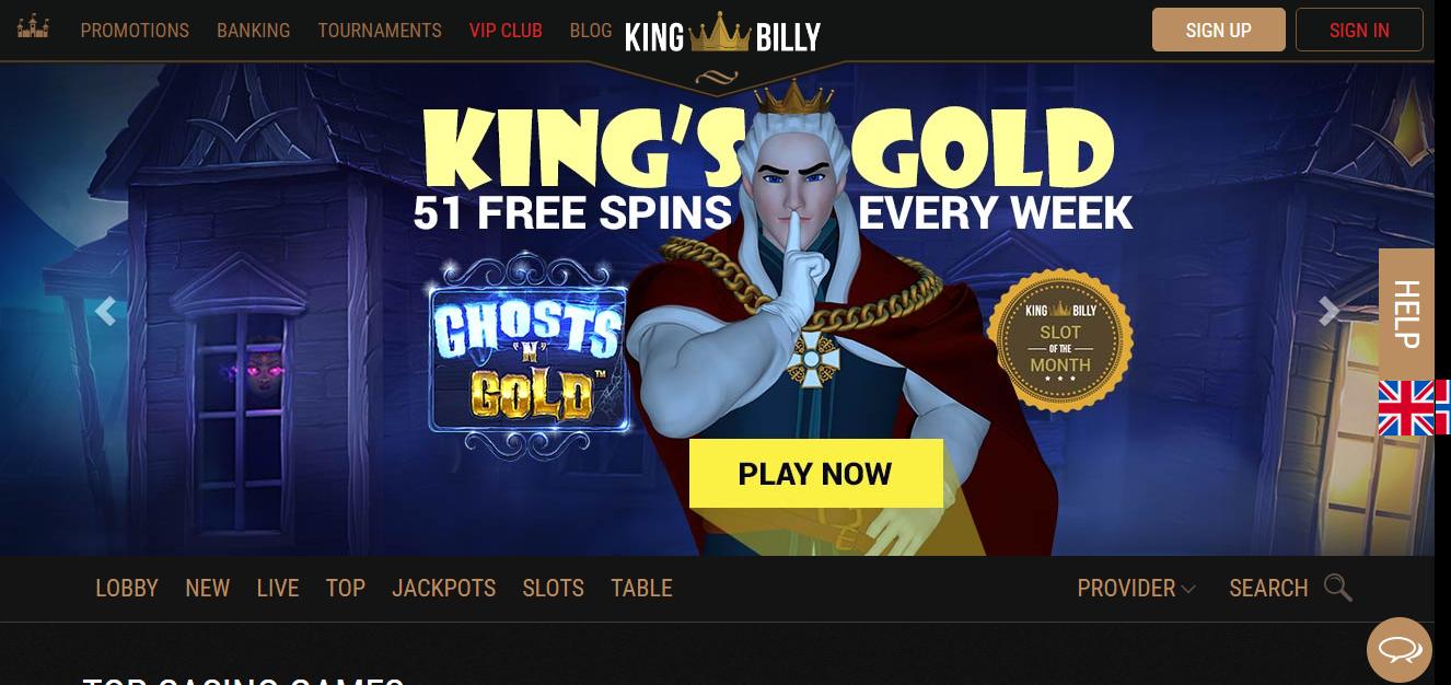 King Billy kazino